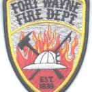 Fort Wayne Indiana Fire Rescue Patch