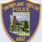 Snowflake-Taylor Arizona Police Patch