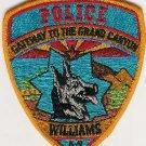 Williams Arizona Police K-9 Unit Patch