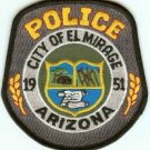 El Mirage Arizona Police Patch