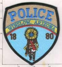 Winslow Arizona Police Patch