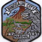 Dinosaur City Marshal Colorado Police Patch