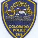 Georgetown Colorado Police Patch Locomotive