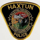 Haxtun Colorado Police Patch Locomotive