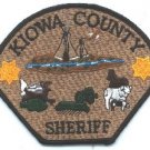 Kiowa County Sheriff Colorado Police Patch
