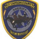 Kit Carson County Sheriff Colorado Police Patch