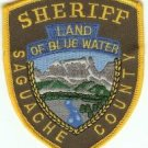 Saguache County Sheriff Colorado Police Patch