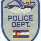 Avon Colorado Police Patch