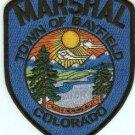 Bayfield Marshal Colorado Police Patch