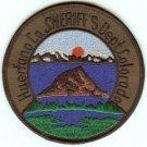 Huerfano County Sheriff Colorado Police Patch