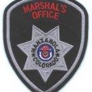 Manzanola Marshal Colorado Police Patch