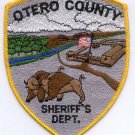 Otero County Sheriff Colorado Police Patch