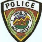 Oak Creek Colorado Police Patch