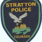 Stratton Colorado Police Patch