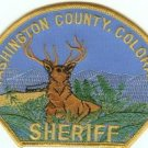 Washington County Sheriff Colorado Police Patch