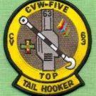 CV-63 USS Kitty Hawk Top Tail Hooker Naval Aircraft Patch