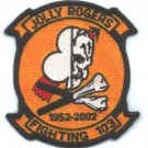 VF-103 JOLLY ROGERS SQUADRON MILITARY AIRCRAFT PATCH