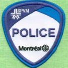 Montreal Quebec CANADA Police Patch