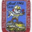 Baltimore-Washington International Airport Fire Rescue Patch ARFF
