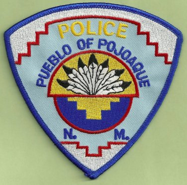 Pueblo of Pojoque New Mexico Tribal Police Patch