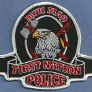 First Nation M'ik Maq Canada Tribal Police Patch