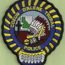 Coeur D'Alene Idaho Tribal Police Patch
