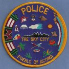 Pueblo of Acoma New Mexico Tribal Police Patch