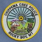 Chippewa Cree Montana Tribal Police Patch