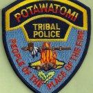 Potawatomi Oklahoma Tribal Police Patch