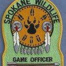 Spokane Tribal Wildlife Game Officer Police Patch