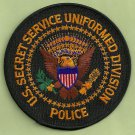 UNITED STATES SECRET SERVICE UNIFORM DIVISION PATCH BLACK