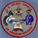 UNITED STATES SECRET SERVICE AMERICAN HERITAGE PATCH