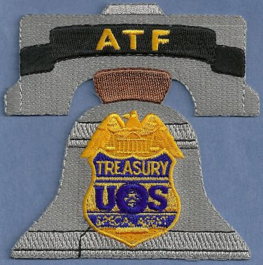 ATF  philadelphia Field Office Police Patch