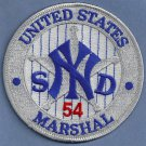 United States Marshal New York South District Police Patch