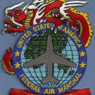 Federal Air Marshal Dragon Team Police Patch