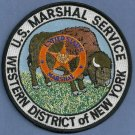 United States Marshal Western District New York Police Patch