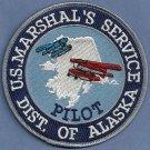 United States Marshal Alaska Pilot Police Patch