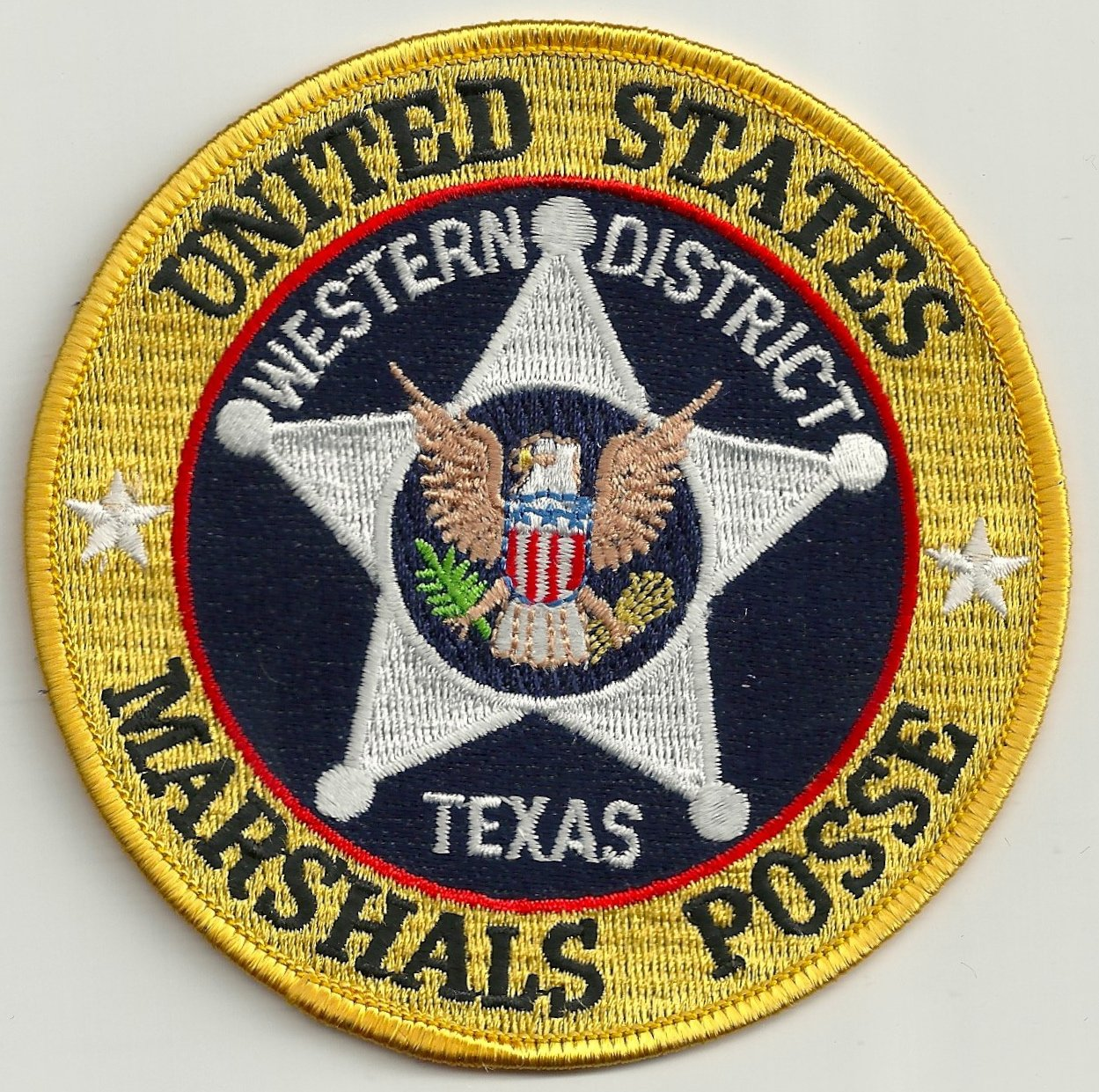 Marshall (TX) United States  City pictures : United States Marshal West Texas Posse Police Patch