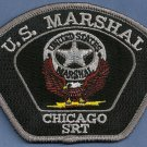 United States Marshal Chicago SRT Police Patch