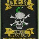 DEA Jungle Operations Police Patch