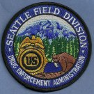 DEA Seattle Washington Field Division Police Patch