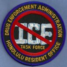 DEA Honolulu Hawaii Resident Office ICE Police Patch