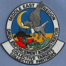 DEA Middle East Region Police Patch