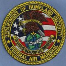 Federal Air Marshal Department of Homeland Security Police Patch
