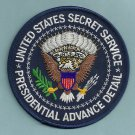 UNITED STATES SECRET SERVICE PRESIDENTIAL ADVANCE TEAM PATCH