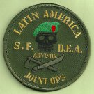 DEA Latin America Joint Operations Advisor Police Patch