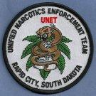 DEA Rapid City South Dakota UNET Task Force Police Patch