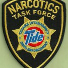 DEA Tehama County California TIDE Narcotics Task Force Police Patch