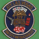 ATF Las Vegas Nevada Police Patch
