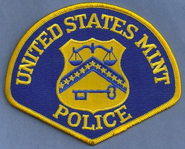 United States Mint Police Patch
